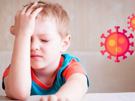 Çocuklarda en sık görülen COVID-19 belirtileri: Başağrısı ve ateş